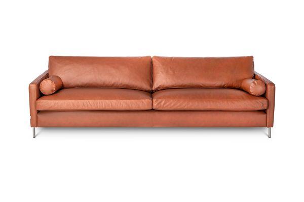 Sofa Colorado Bezug Leder cognac