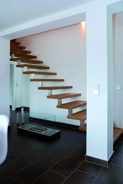 Treppenstufen Wildeiche A/B durchgehende Lamellen 40mm