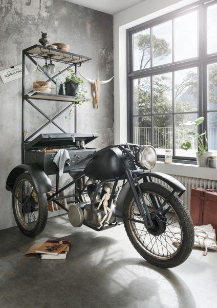 Trike-Barregal Unikat Metall Vintage