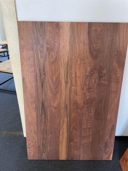 Tischplatte Nussbaum Massiv 40 mm