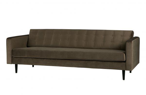 3- Sitzer Sofa Livia Bezug Velvet gold