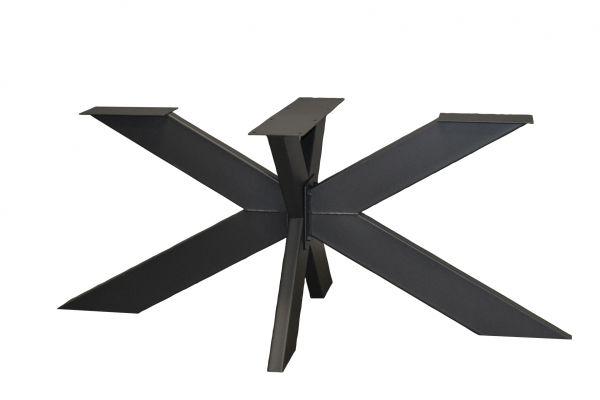 Tischgestell Rex Spider Fineline Stahl