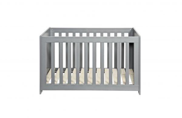 Baby Bestellgestell New Life Kiefer gebürstete betongrau [fsc]