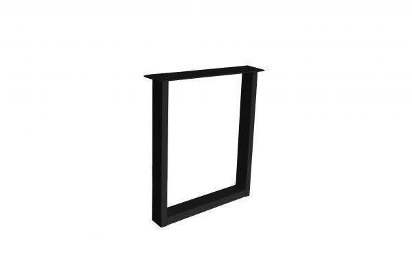 Tischgestell U 600 Finline 2er Set Stahl schwarz